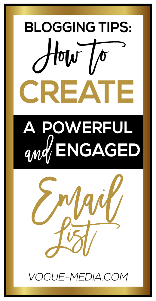 How to Create an Engaged Email List