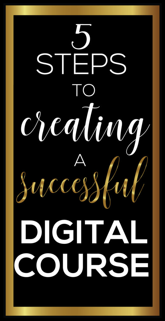 Create a Digital Course