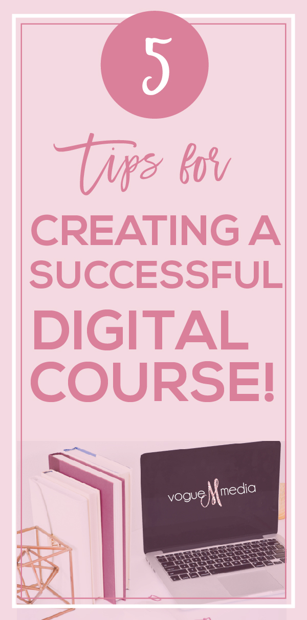 How to Create a Successful Digital Course