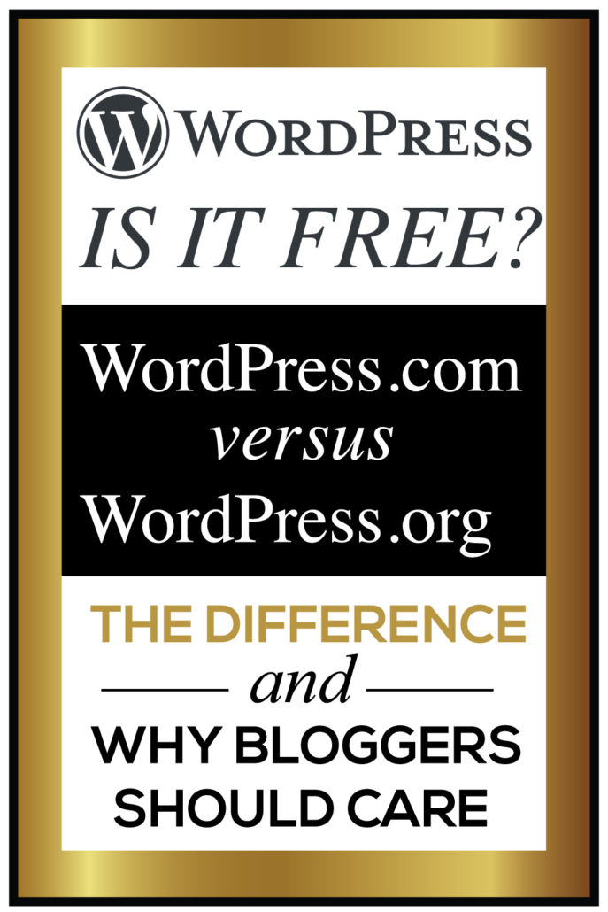 WordPress .com vs WordPress .org
