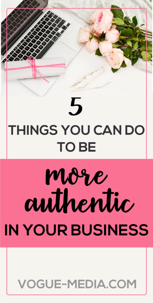 Authenticity in Business