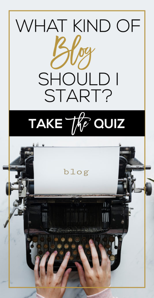 What kind of blog should I start?
