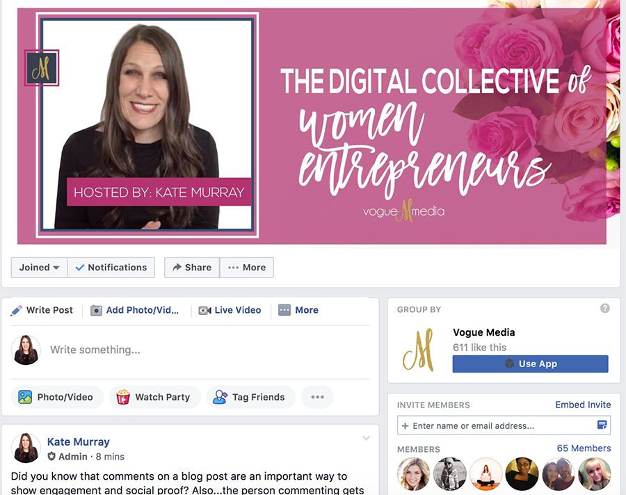 Join Today! The Digital Collective of Women Entrepreneurs