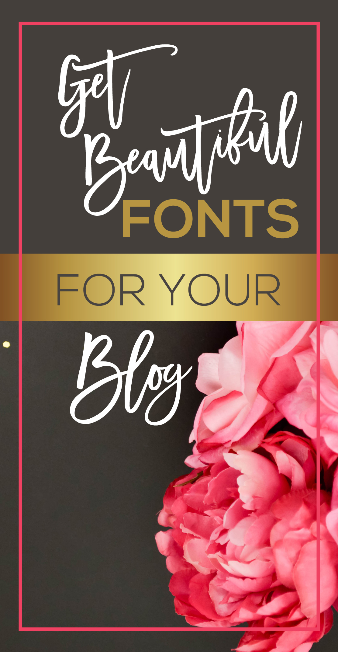 Get Beautiful Fonts for your Blog