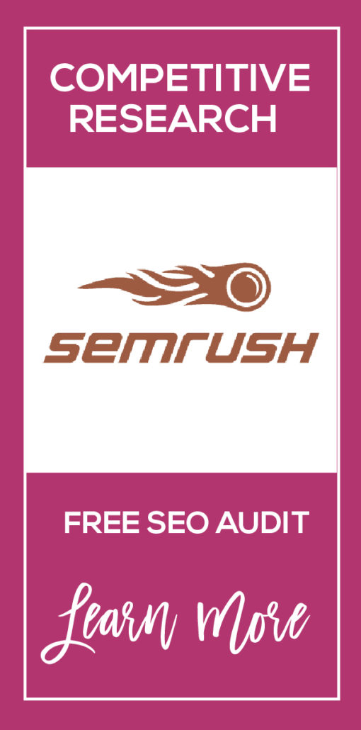 SEMRush Get a Free Website Audit