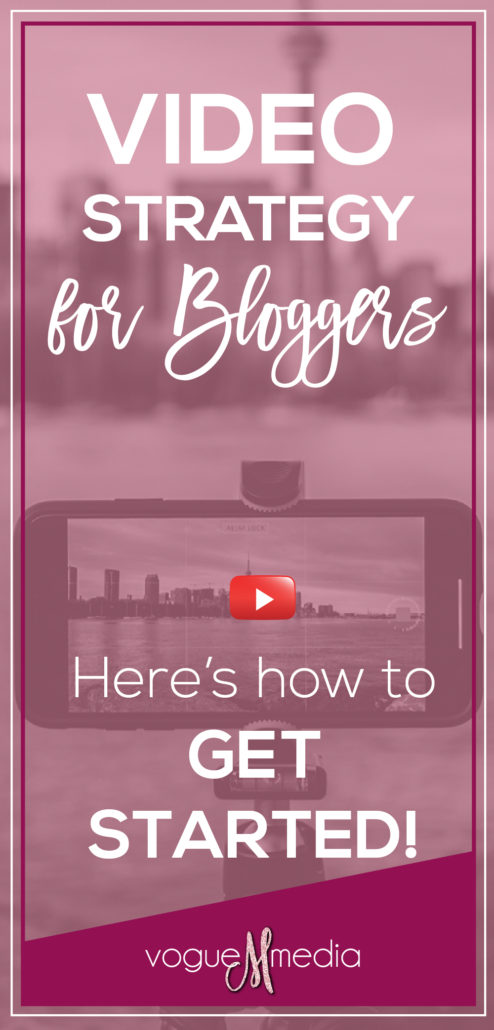 Video Strategy for Bloggers