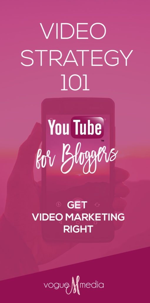 YouTube Video Strategy for Bloggers