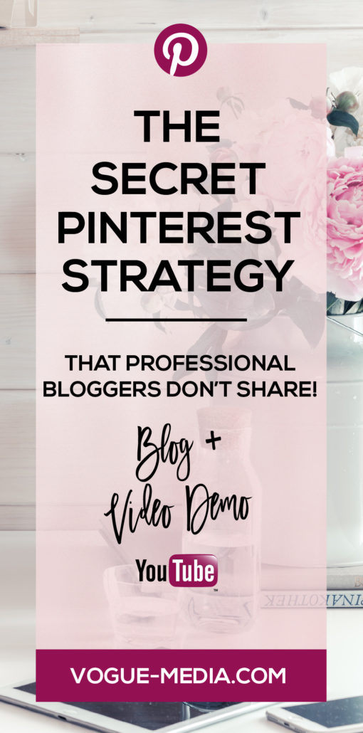 Pinterest Tailwind Secret Pinning Strategy