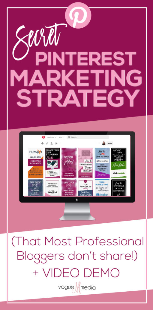 Secret Pinterest Marketing Strategy