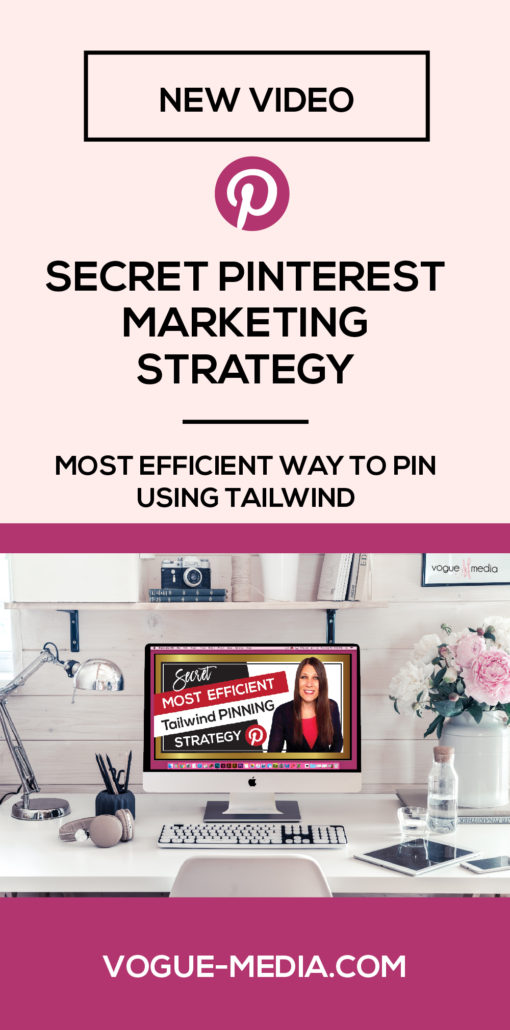 The Most Efficient Way to Pin Using Pinterest Secret Marketing Strategy