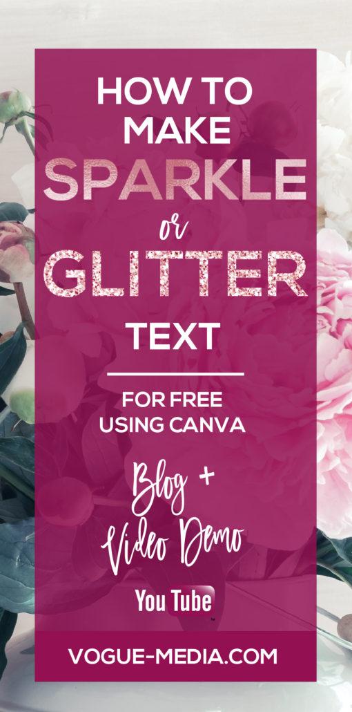 Glitter Text