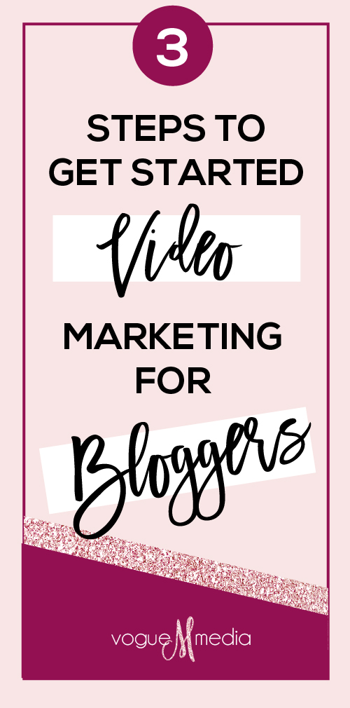 Video Marketing - Getting Started for Bloggers