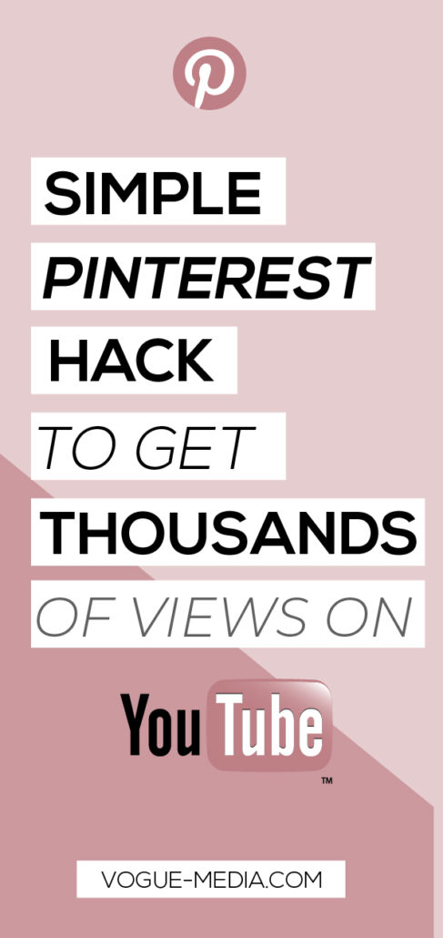 Pinterest YouTube Hack