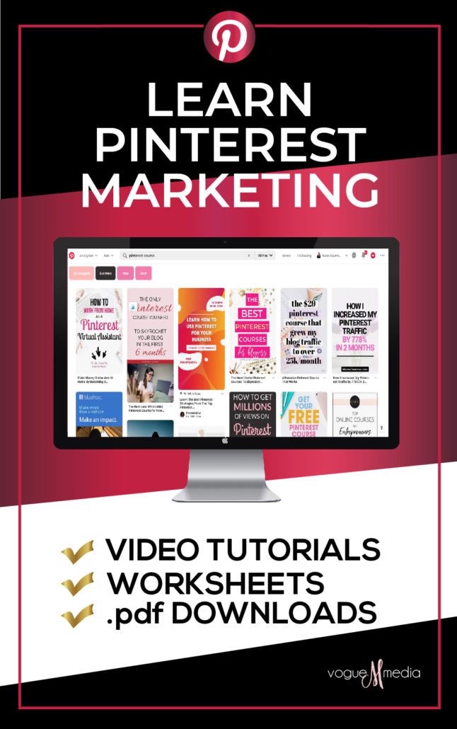 Pinterest Marketing Course