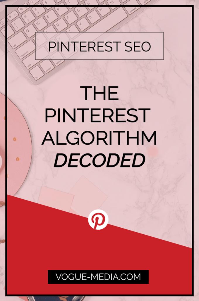 Pinterest SEO Pinterest Algorithm