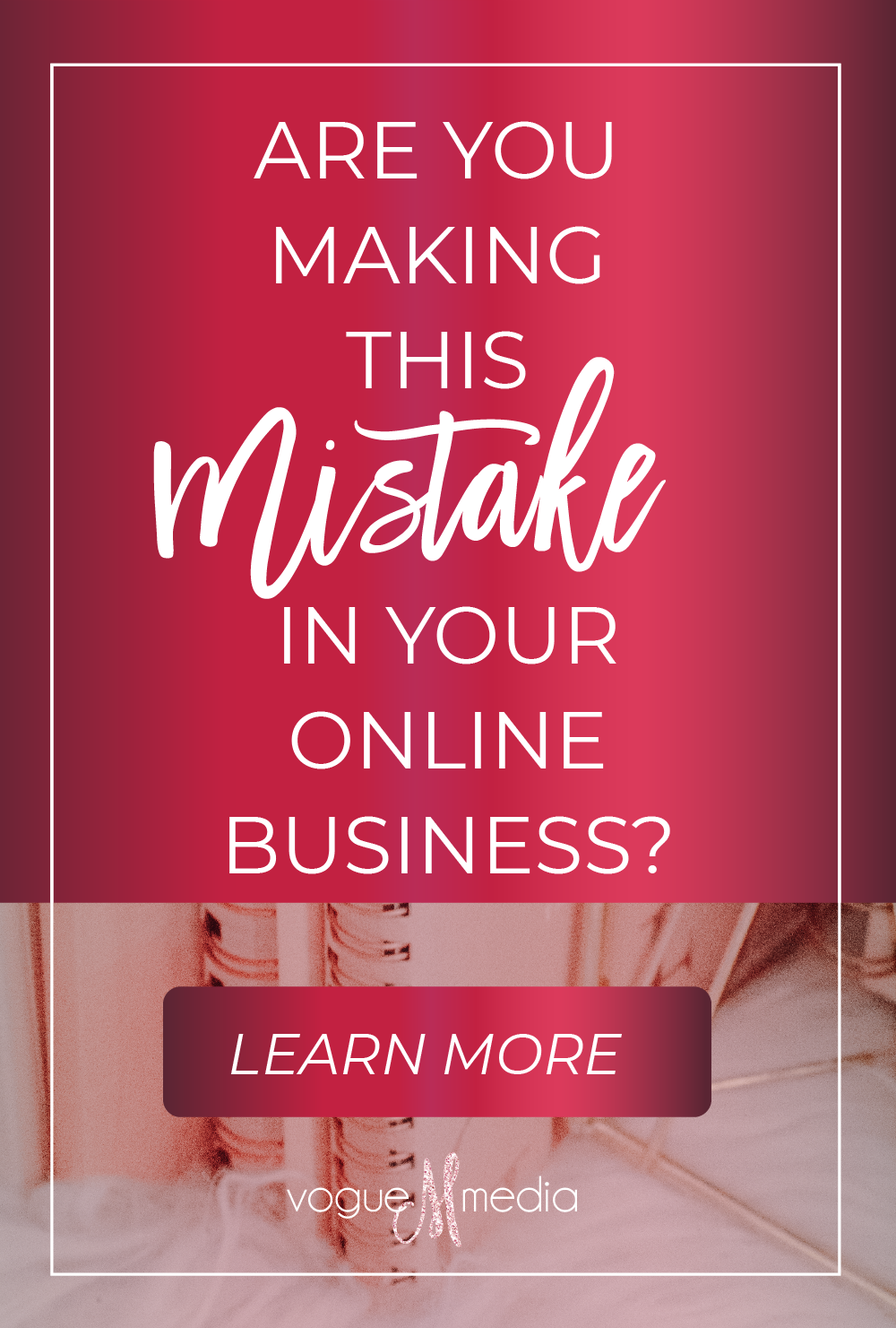 Are you making this mistake in your online business?