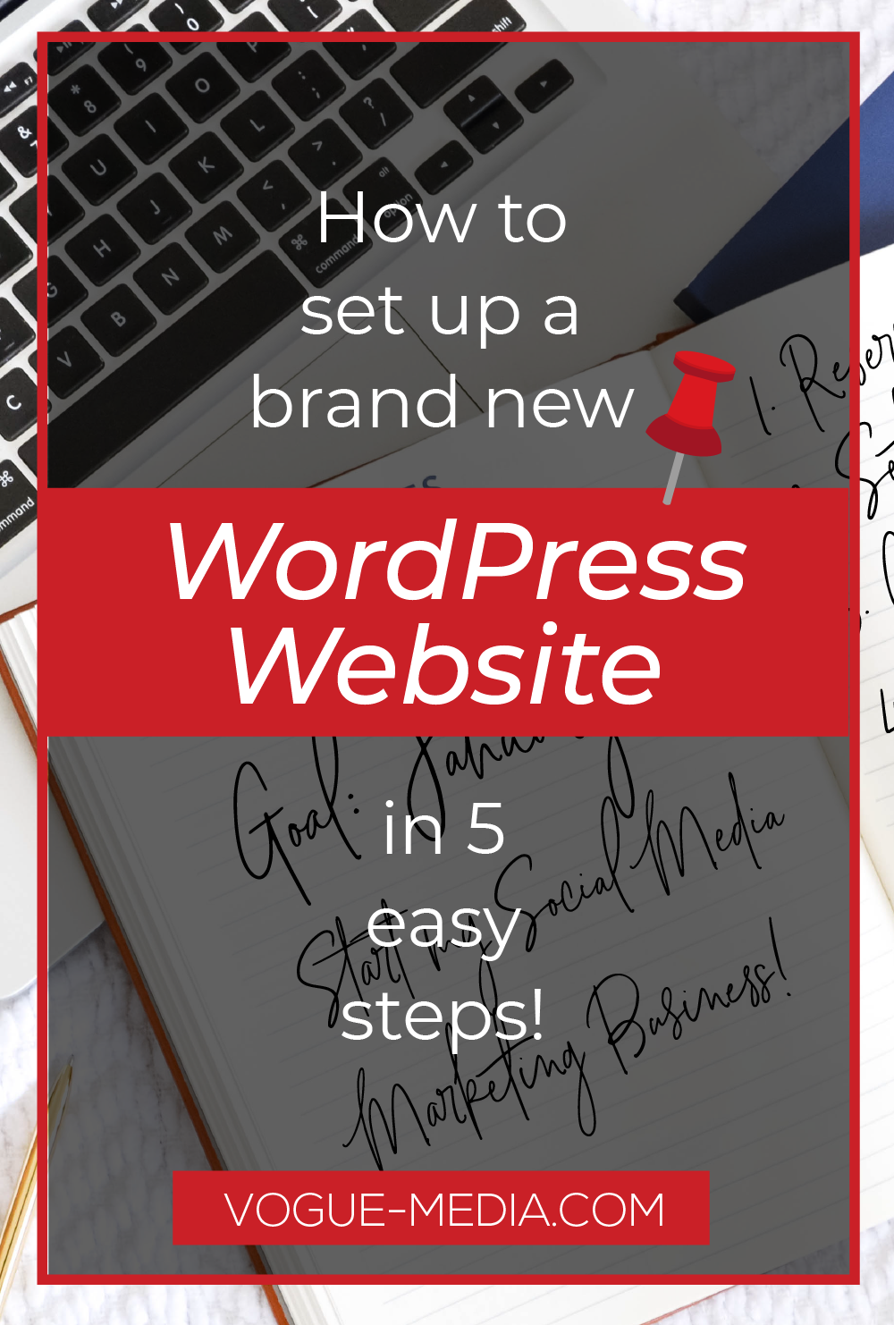 how to set up a new wordpress website step by step