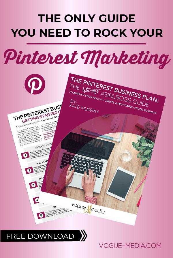 Pinterest Free Guide