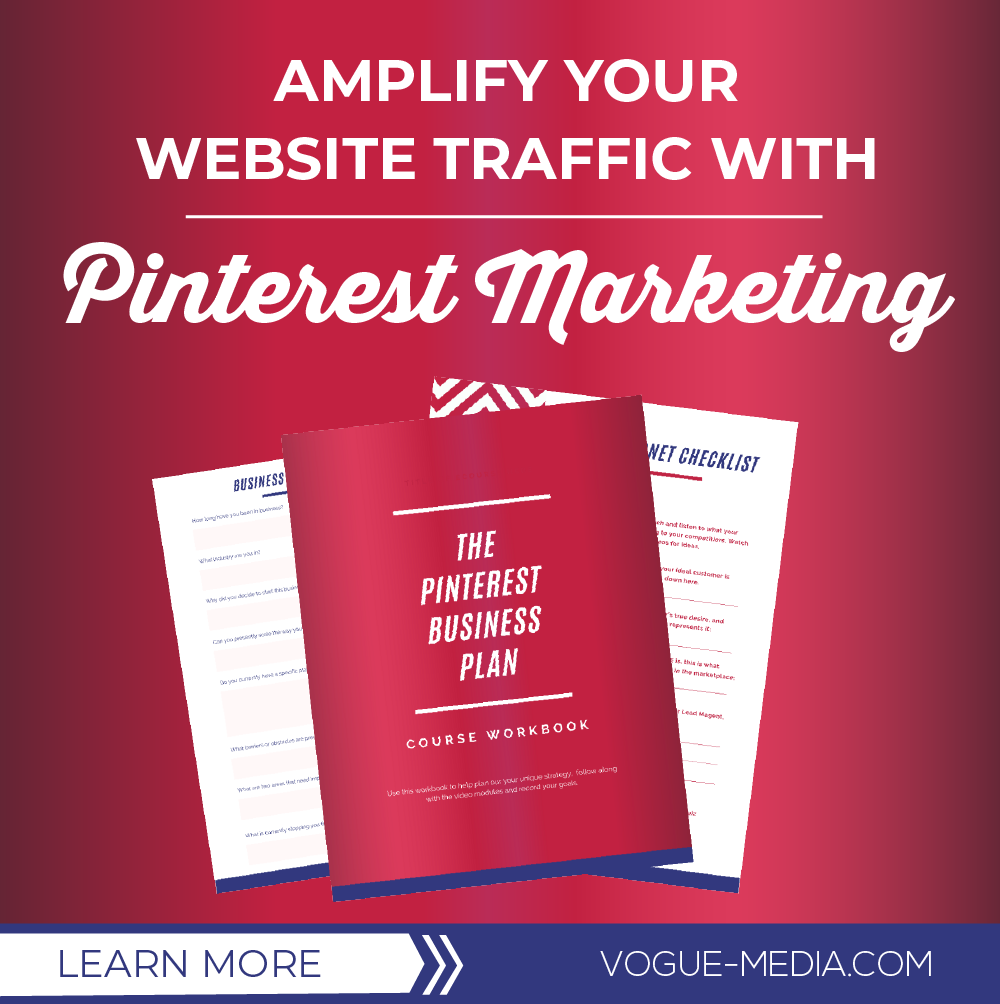 Increase website traffic pinterest