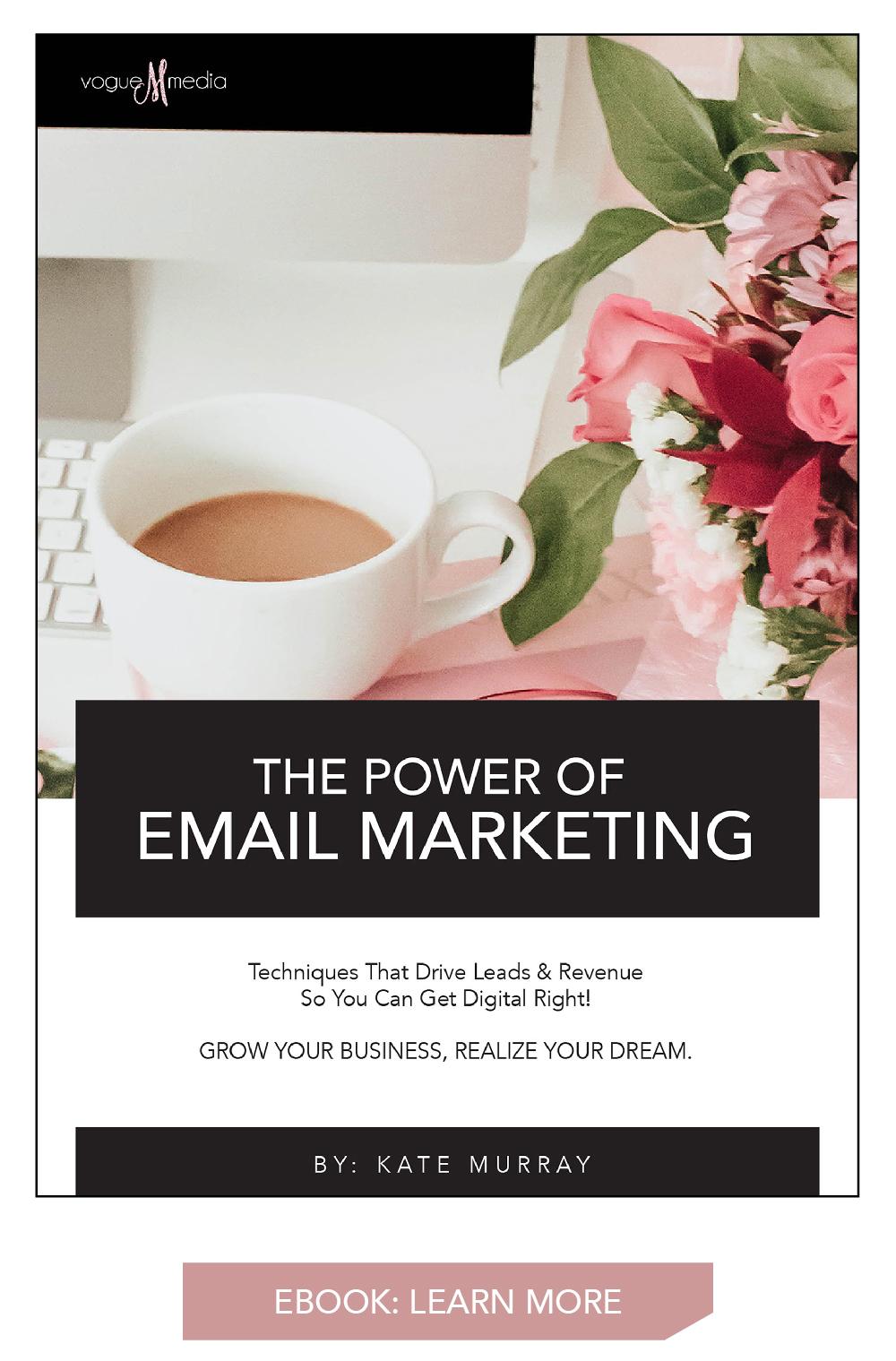 Email Marketing Ebook Vogue Media